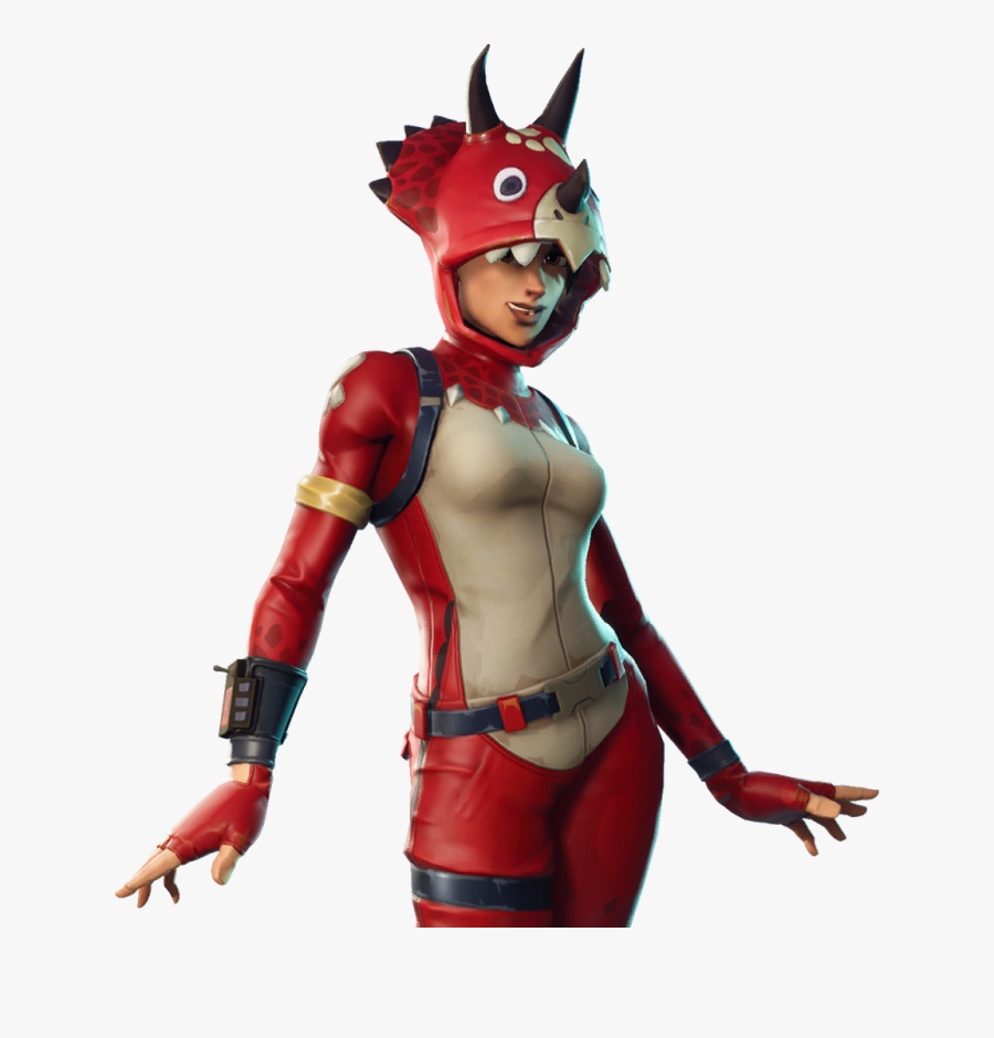 Tricera Ops Outfits Skins - Fortnite Tricera Ops, Transparent Clipart