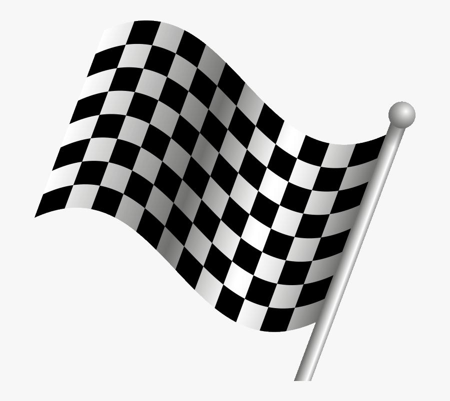 Transparent Checkered Flag Png - Car Racing Flags Png Vector, Transparent Clipart