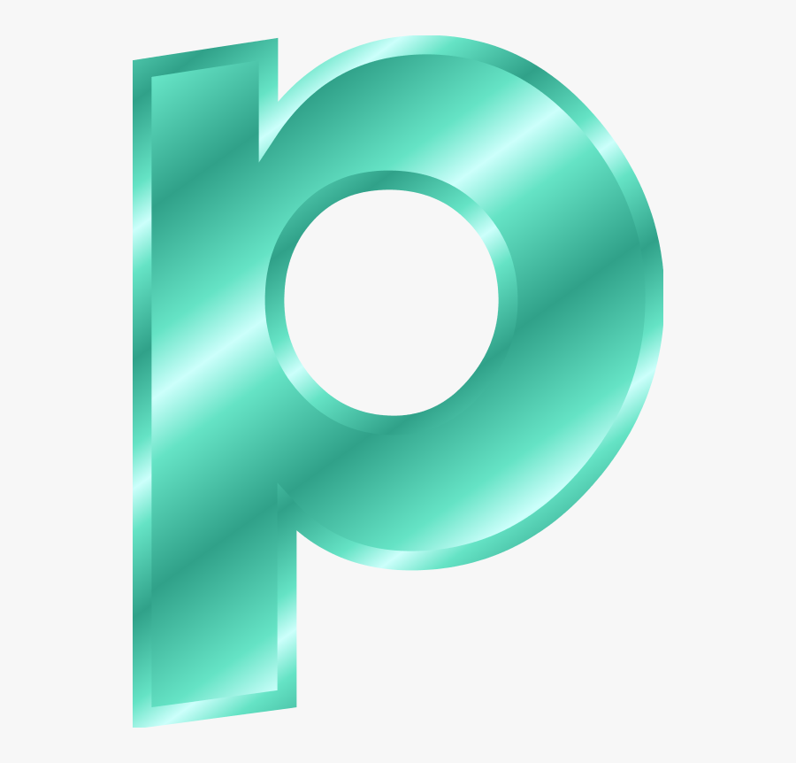Letters Clipart Small - Small Letter P Clipart, Transparent Clipart