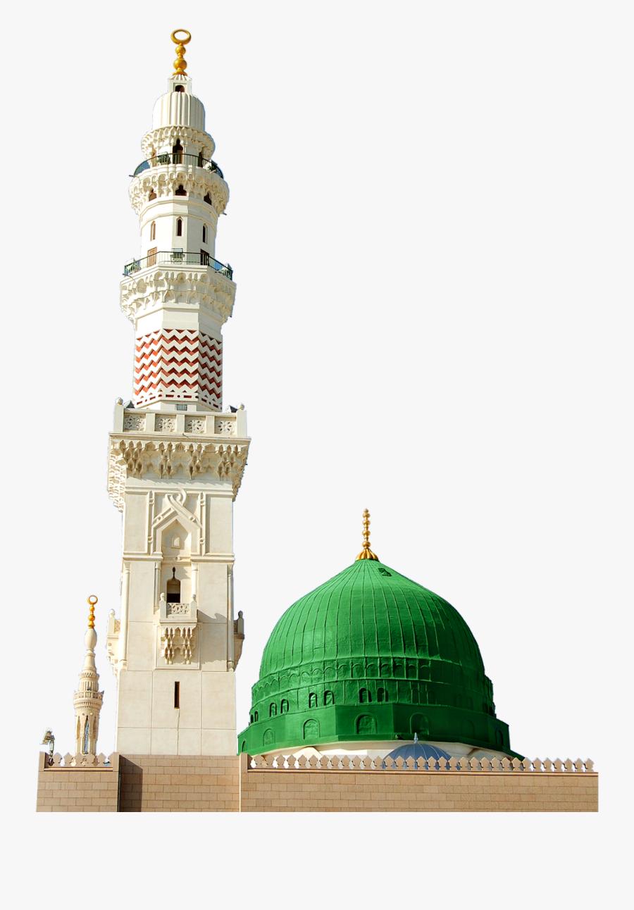 Masjid E Nabvi Png Transparent Background - Masjid E Nabvi Minar, Transparent Clipart