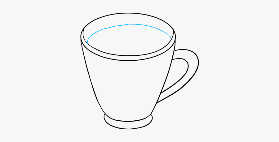 How To Draw Hot Chocolate - Coffee Cup, Transparent Clipart