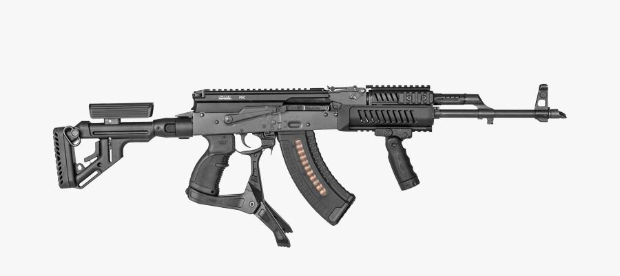 Rifle,machine Gun,gun Accessory,gun Barrel,airsoft,air - Fab Defense Ak 47, Transparent Clipart