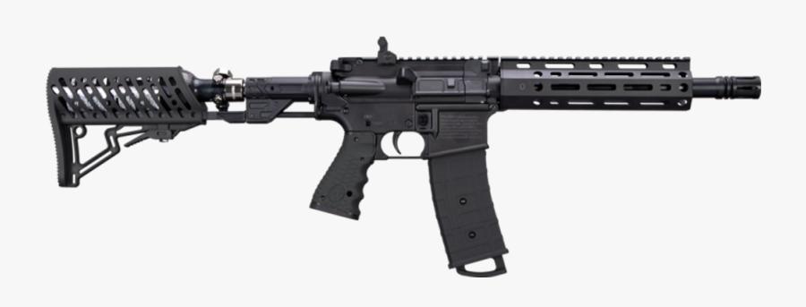 Transparent Paintball Gun Png - Tippmann Tmc Elite Paintball Gun, Transparent Clipart