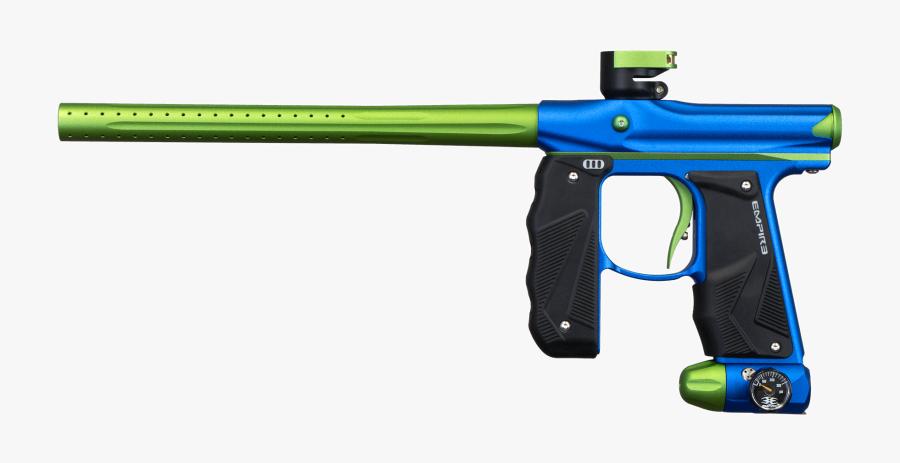 Gun,paintball Marker,firearm,air Equipment,recreation,gun - Empire Mini Gs Paintball Gun, Transparent Clipart