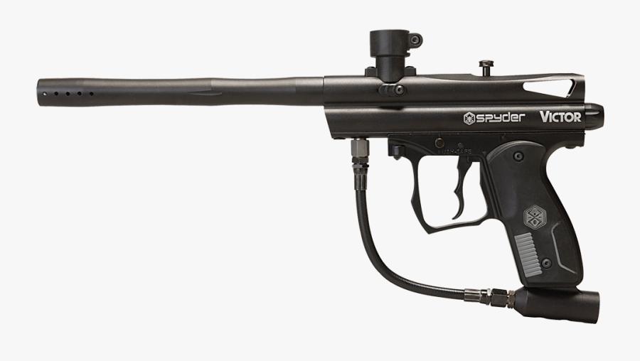 Spyder Victor Paintball Gun, Transparent Clipart