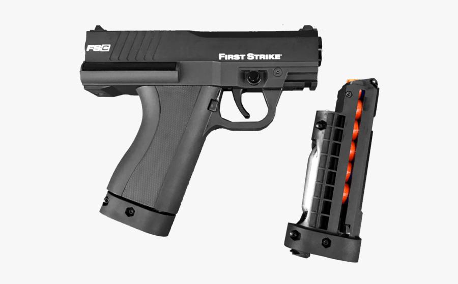Chris Vector Tan - Pistol Paintball Guns, Transparent Clipart