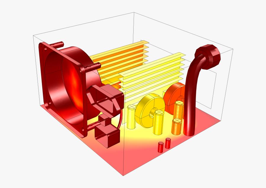 Conjugate Transfer Comsol Blog - Conduction Heat Transfer Application, Transparent Clipart