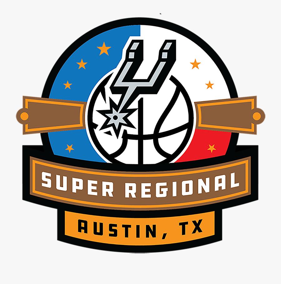 Spurs Super Regional - San Antonio Spurs, Transparent Clipart