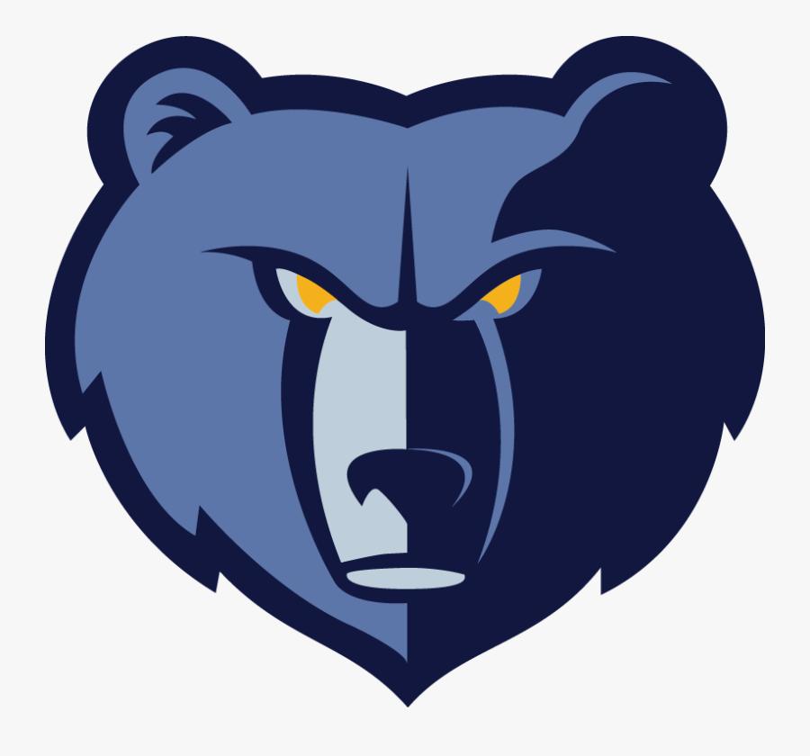 Memphis Grizzlies Logo, Transparent Clipart