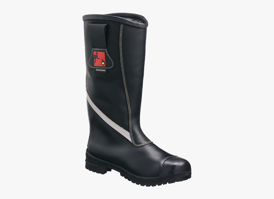 Tuffking Firefighter Boots - Firefighters Shoes, Transparent Clipart