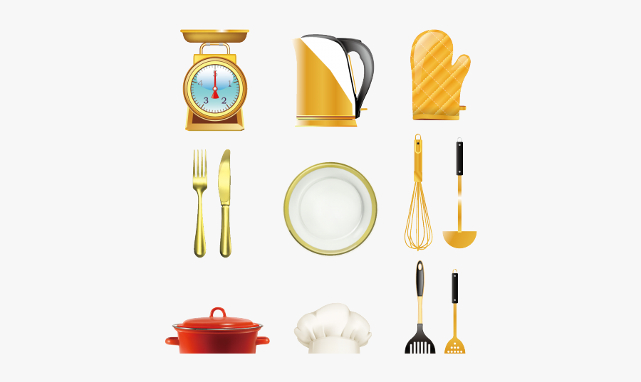 Tool Clipart Kitchen - Frying Pan, Transparent Clipart