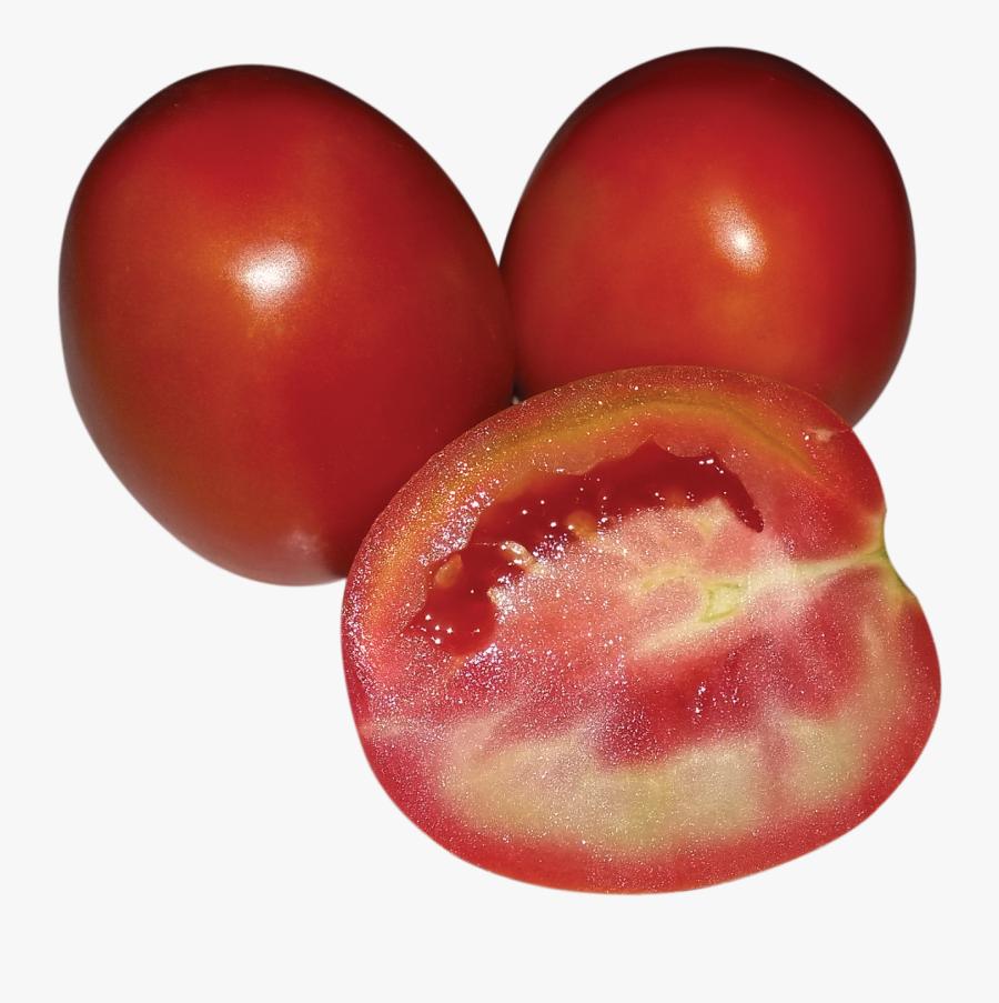 Tomato Clipart Tamatar - Plum Tomato, Transparent Clipart