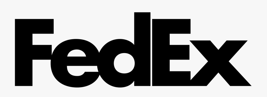 Fedex Logo Png Free Background - Fedex, Transparent Clipart