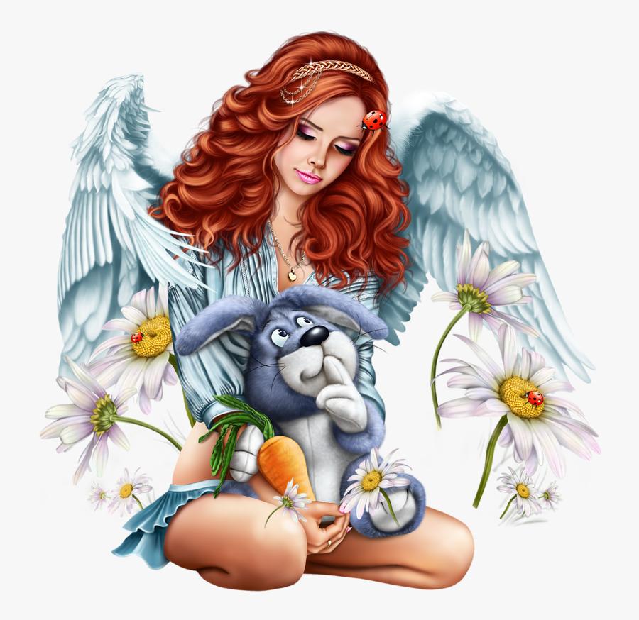 Tubes 3d Artist Laguna Illustration Girl, Girly Girl, - Tube Png Ballon Plage, Transparent Clipart