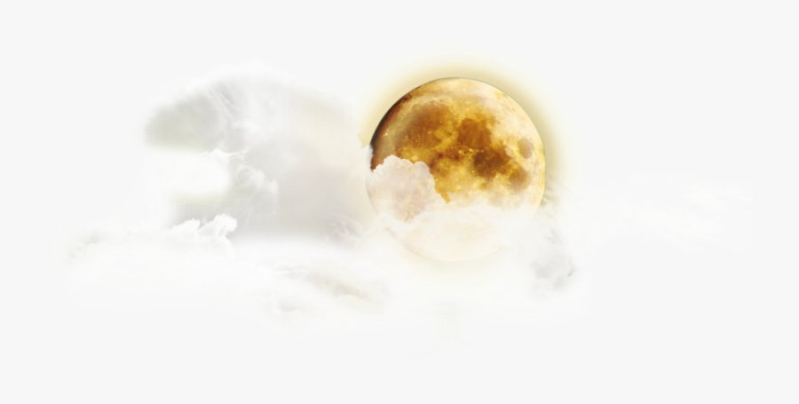 Moon And Cloud Png, Transparent Clipart
