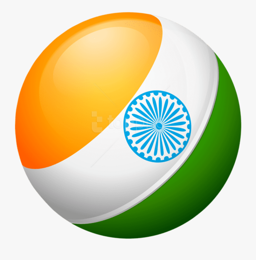 Free Png Download Round India Flag Clipart Png Photo, Transparent Clipart
