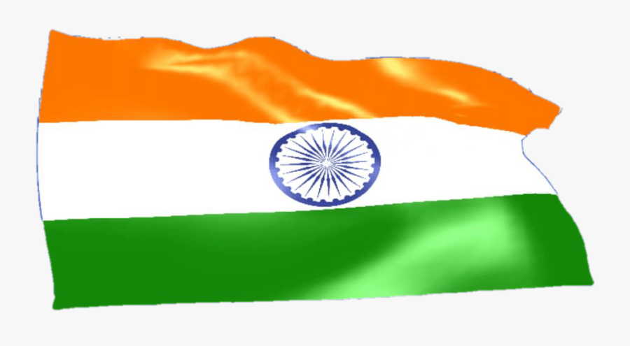 Transparent India Flag Clipart - Flag, Transparent Clipart