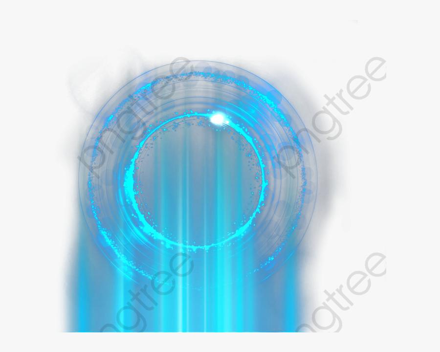 Blue Light Transparent Image - Circle, Transparent Clipart