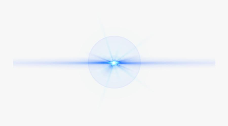 Front Blue Lens Flare - Front Blue Lens Flare Png, Transparent Clipart