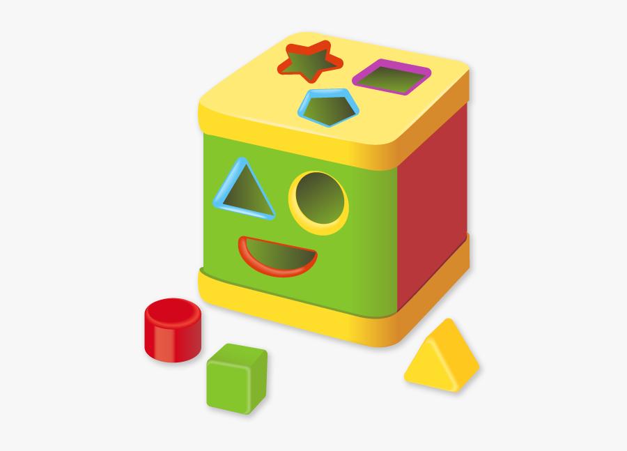 Nursery Clipart Block Toy - Toy Blocks Vector, Transparent Clipart