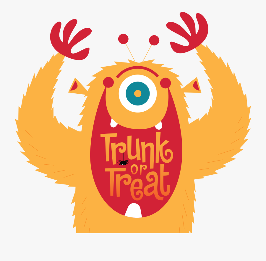 Trunk Or Treat Candy Donations Sign, Transparent Clipart