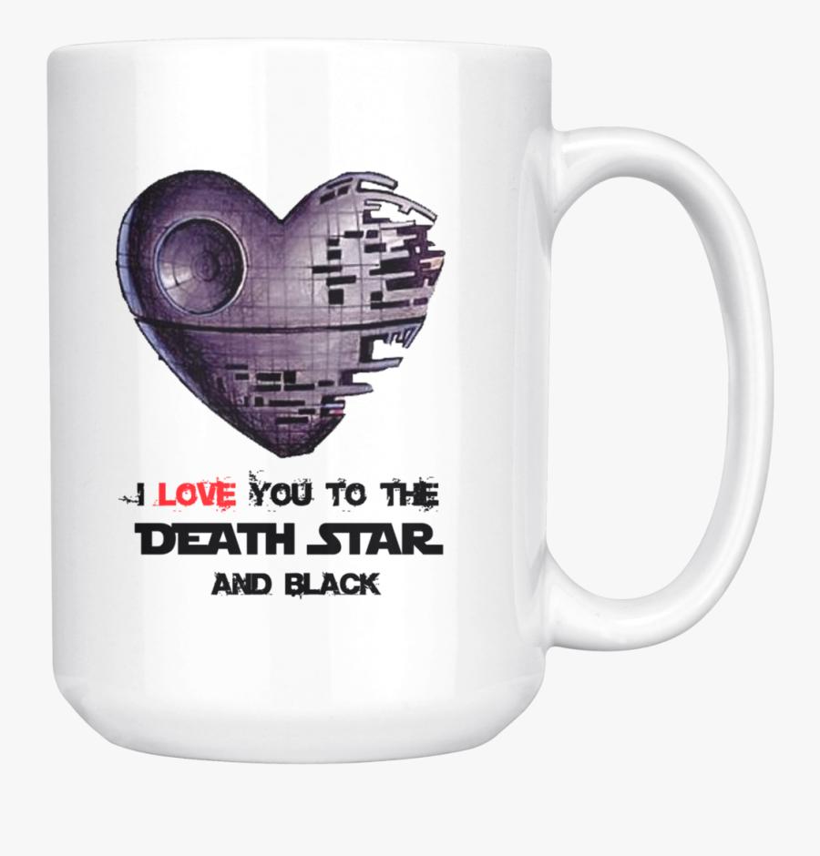 Transparent Star Wars Death Star Png - Heart Shaped Death Star, Transparent Clipart