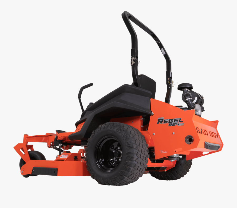 Professional Zero Turn Commercial Lawn Mowers Clipart - 72 Bad Boy Rebel, Transparent Clipart