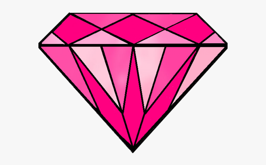 Diamond Clipart Pink Ring - Pink Diamond Ring Clipart, Transparent Clipart