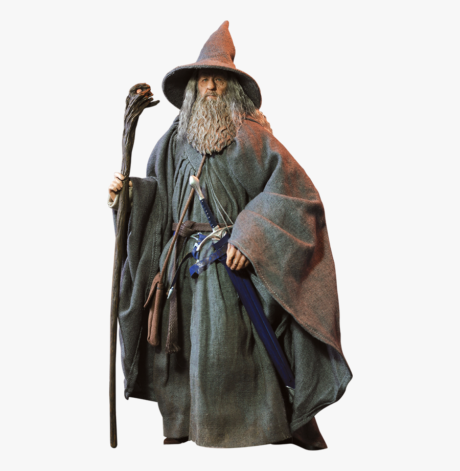 Gandalf Png Pic - Gandalf Figure Lord Of The Rings, Transparent Clipart