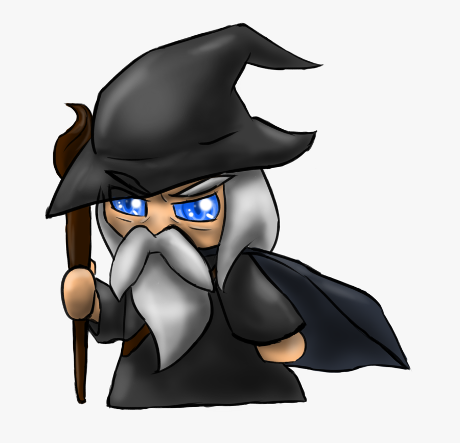 Collection Of Free Gandalf Drawing Sketch Download - Lord Of The Rings Chibi, Transparent Clipart
