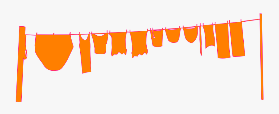 Baby Shower Borders 19, Buy Clip Art - Hanging Clothes Vector Png, Transparent Clipart