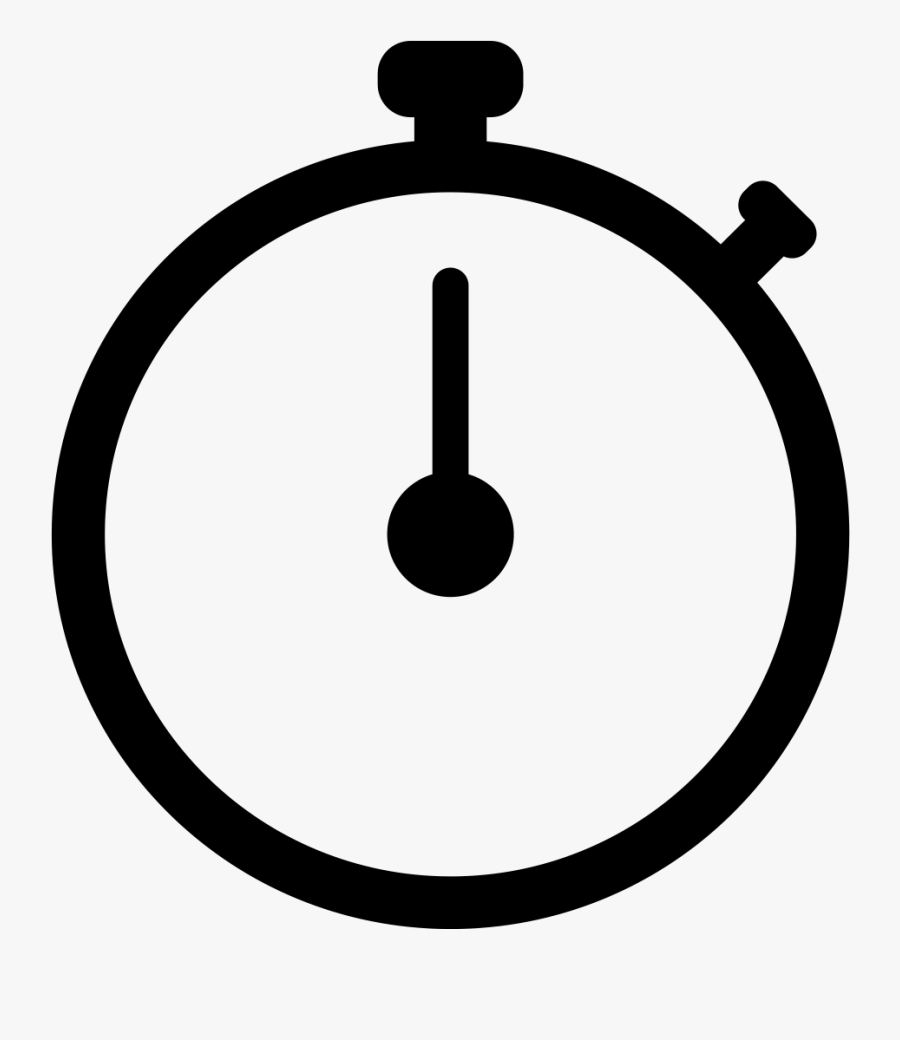 Stop Watch Icon Png, Transparent Clipart