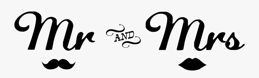 Mr Clipart Calligraphy Mr - Mr Y Mrs En Png, Transparent Clipart