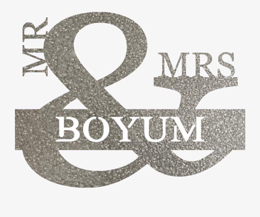 Mr & Mrs Png - Calligraphy, Transparent Clipart
