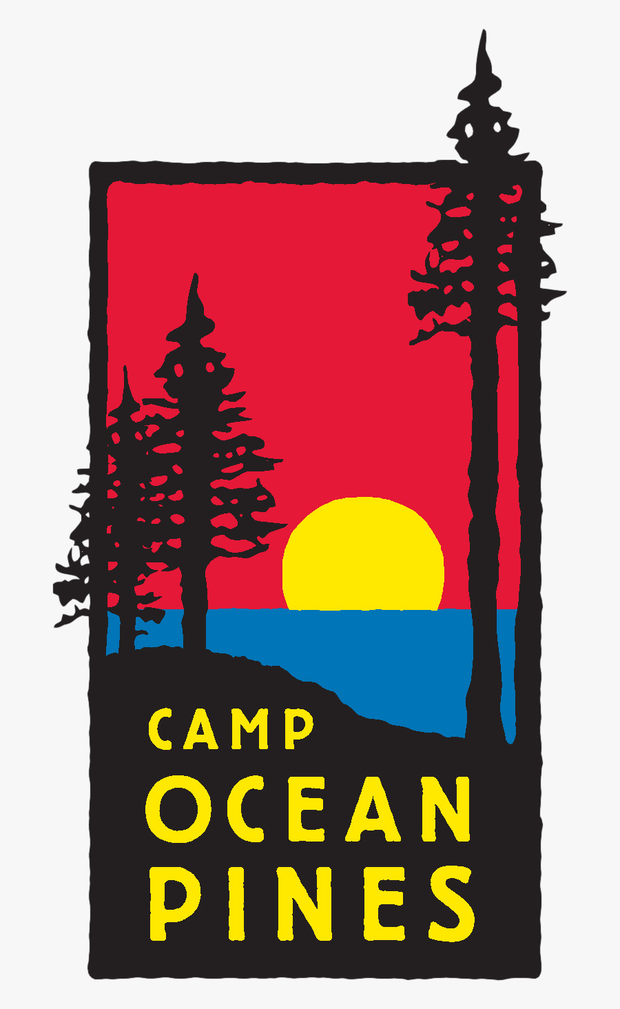 Cabin Clipart School Camp - Camp Ocean Pines, Transparent Clipart