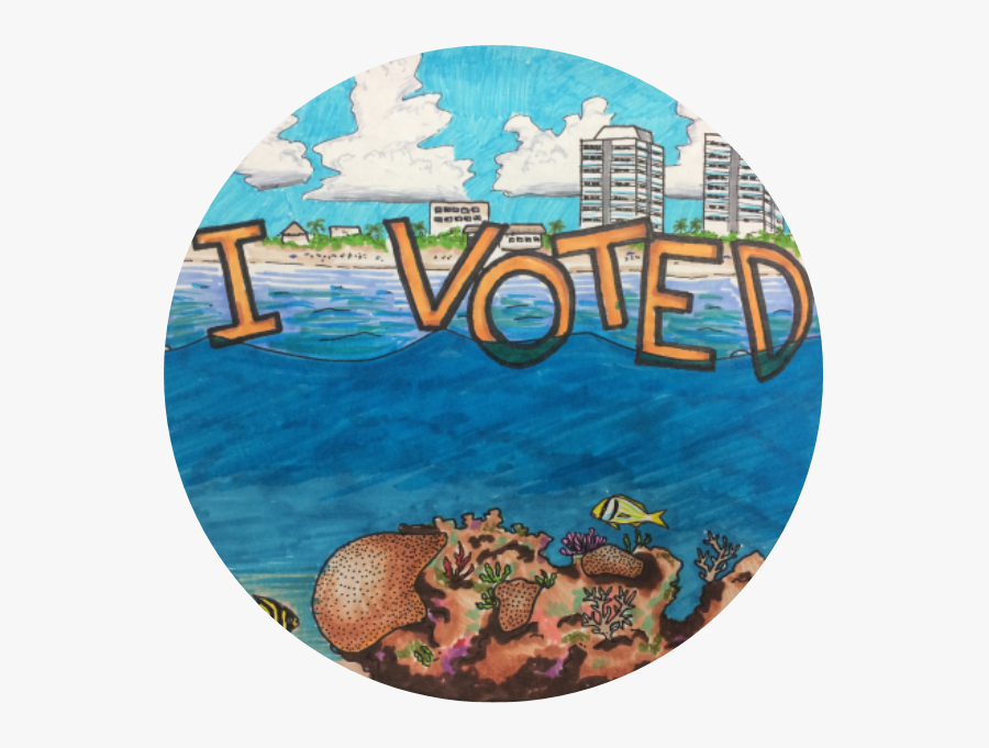 """And The """"i Voted - Voted Sticker India, Transparent Clipart"""
