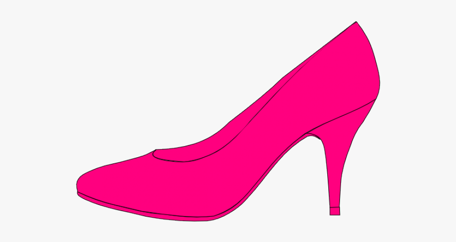 Png Royalty Free Download Cinderella Glass Slipper - Cartoon High Heel Shoes, Transparent Clipart