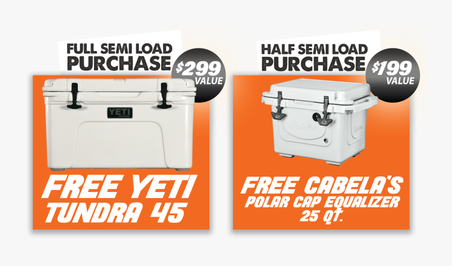 Yetti Cooler Promo Banner - Barbecue Grill, Transparent Clipart