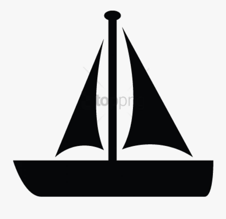 Free Png Boat, Ship, Sail, Sailboat, Motor Boat Icon - Sail, Transparent Clipart