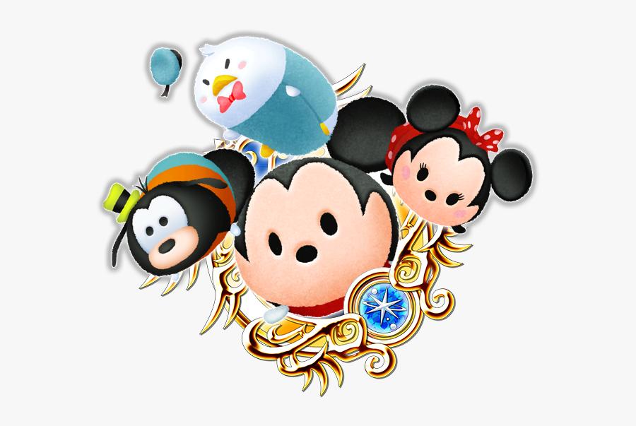 Transparent Winnie The Pooh Tsum Tsum Clipart - Kingdom Hearts Union X Sora, Transparent Clipart