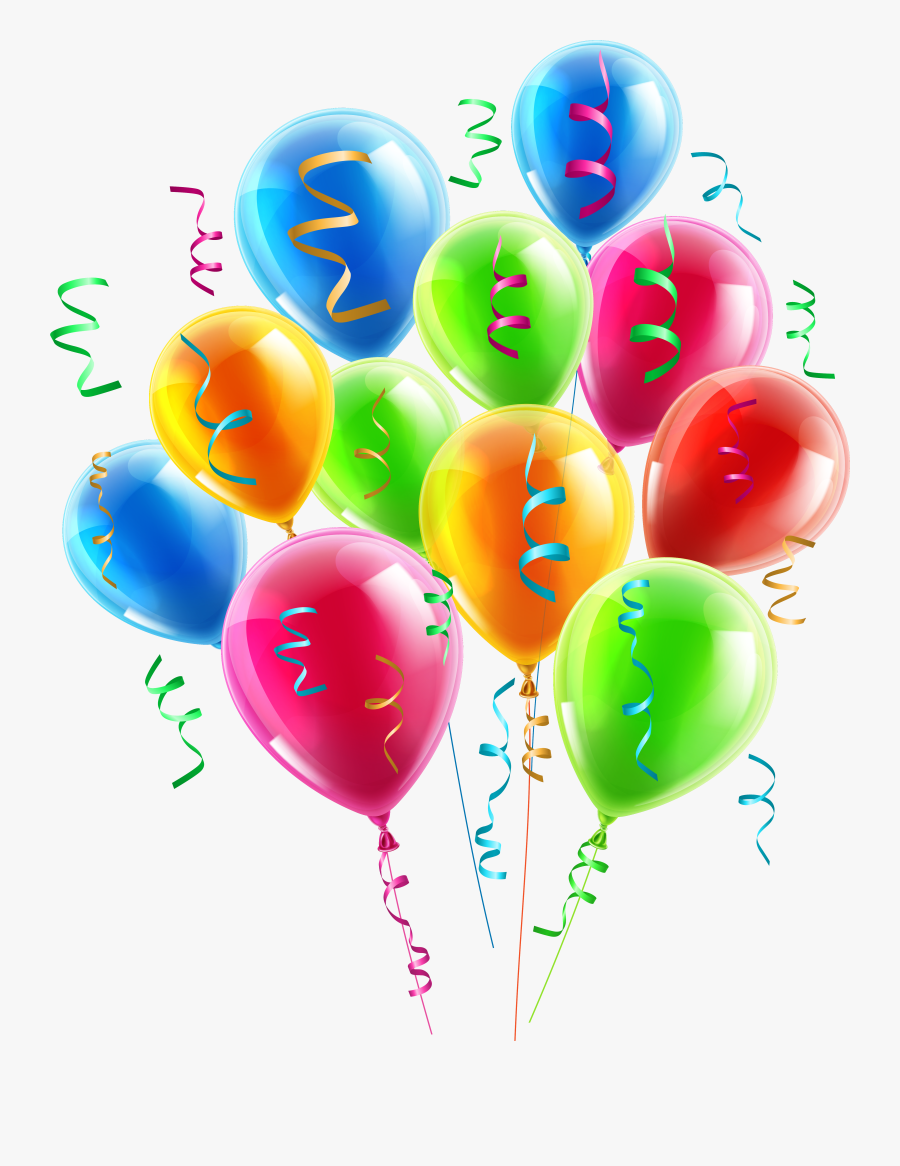 Balloons Decor Png Clipart Picture - Balloon Birthday Decorations Png, Transparent Clipart