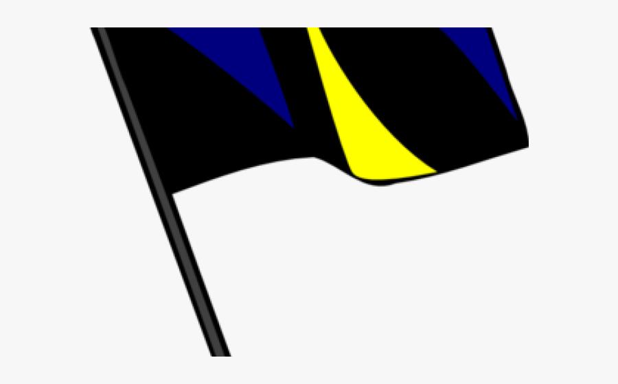 Rifle Clipart Color Guard Flag - Banner Color Png Hd, Transparent Clipart