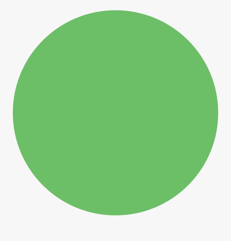 Circle Png Green - Green Circle, Transparent Clipart