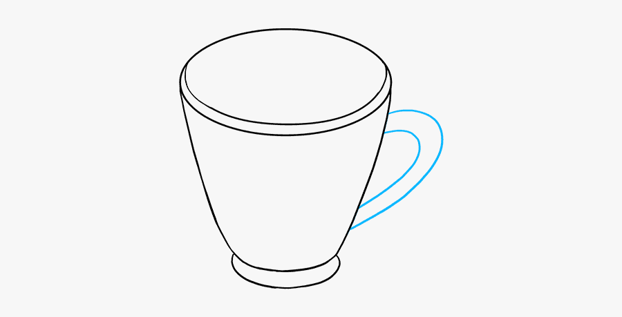 How To Draw Hot Chocolate - Cup, Transparent Clipart