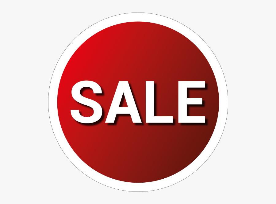 Sale Sticker Png - Circle, Transparent Clipart