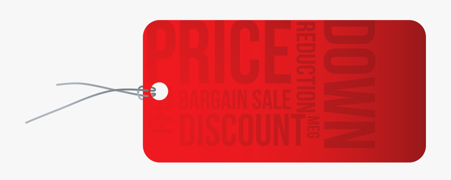 Reduction Red Png Image - Graphic Design, Transparent Clipart