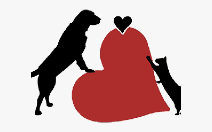 Pets Clipart Pet Care - God And Cat Silhouette, Transparent Clipart