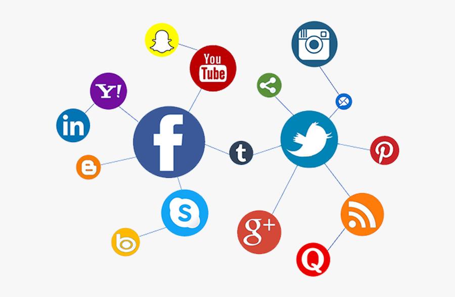 Online Marketing Clipart Social Media Marketing - Social Media Marketing Png, Transparent Clipart