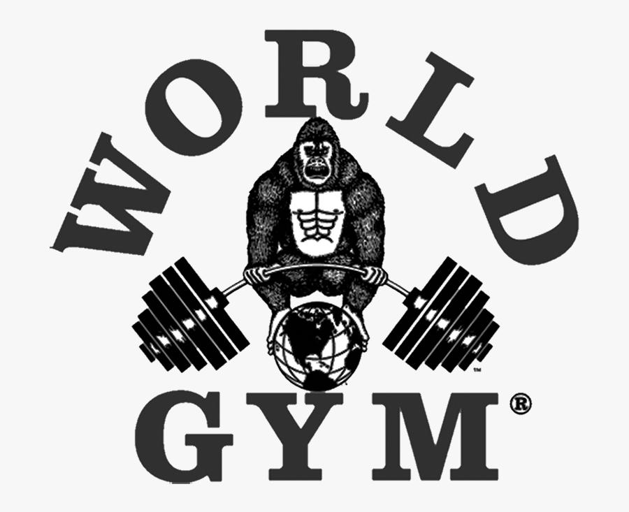 Golds World Gym Logo, Transparent Clipart