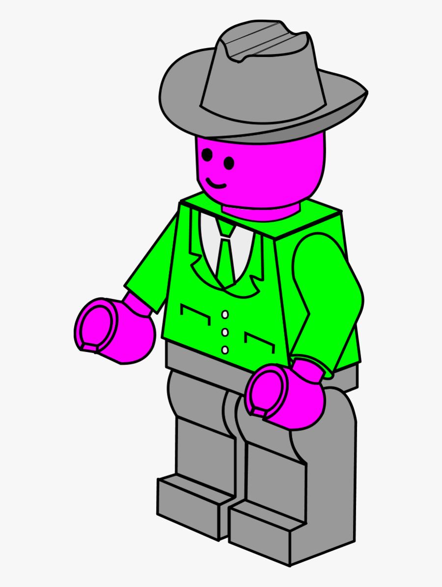 Lego People Clip Art - Lego Characters Vector Clip Art, Transparent Clipart